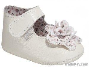 Leather Mary Jane baby shoe