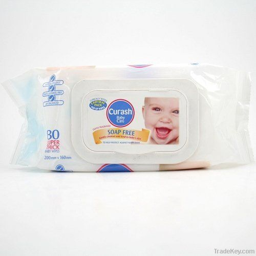 20pcs organic alcohol free baby wipe tissue