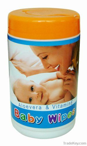 80pcs Baby wet wipe, baby tissue, baby skin care wipes