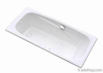 hot sale big size cast iron drop in bathtub NH-001