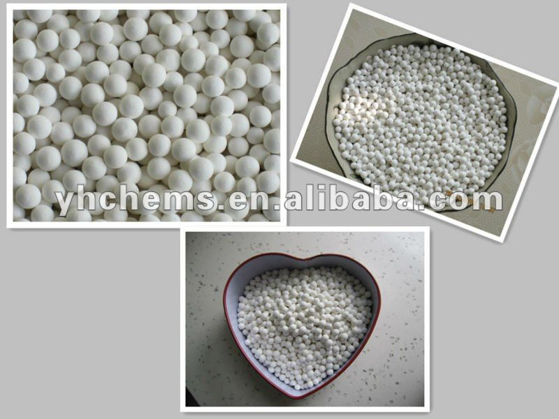 activated alumina ball as desiccants