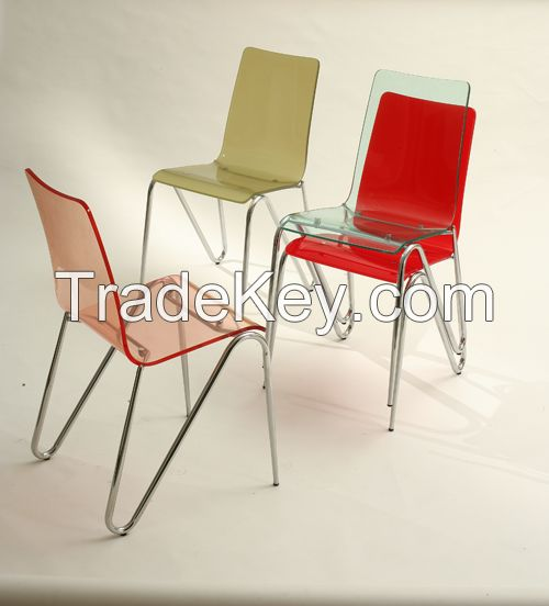 Colorful Acrylic Chair