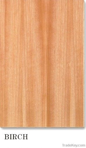 solid color and flower design Paper overlaid Plywood, Polyester Plywood