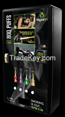 Vape Station e-Cigarette Vending Machine By Seaga, USA