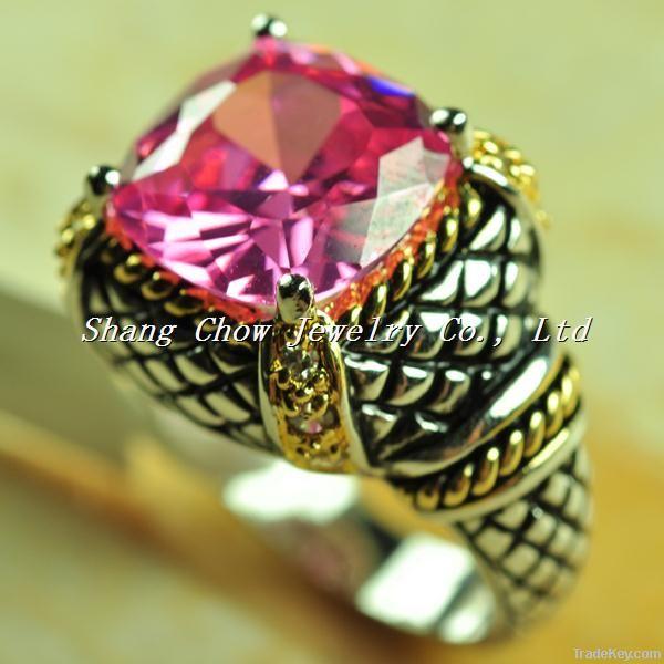women jewelry topaz ring