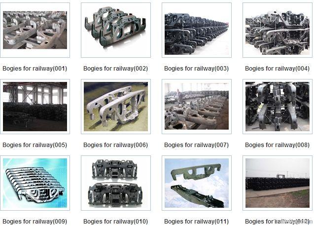 Bogie for railway