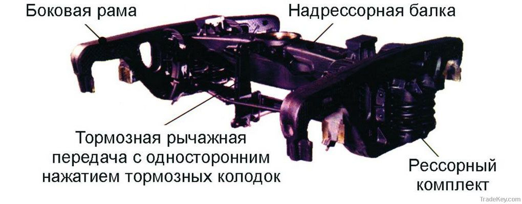 locomotive solebars, locomotive truck bolsters