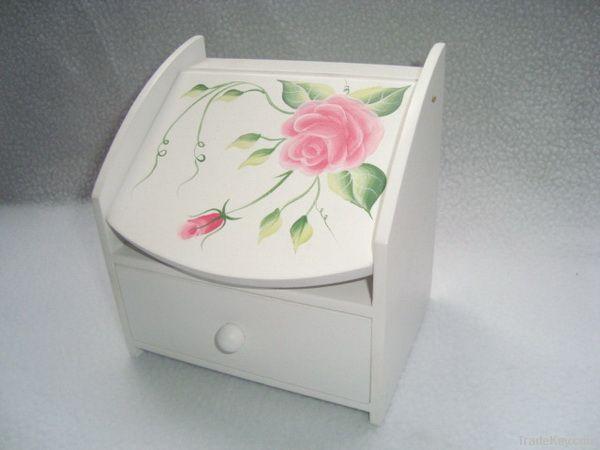 wood jewelry box decoration