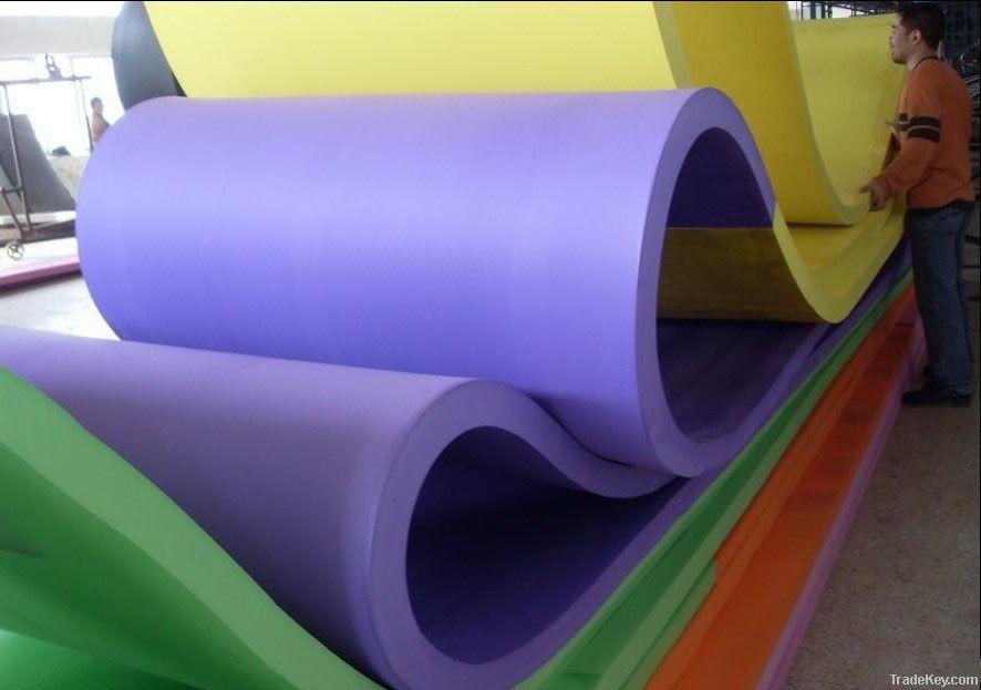EVA foam roll, eva rubber foam