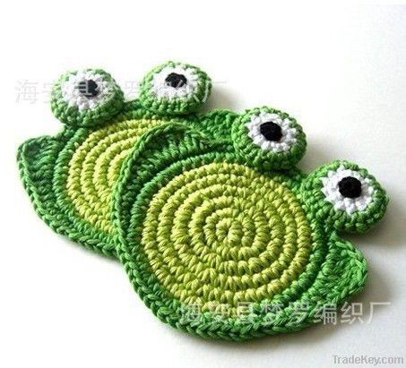 crochet coasters/ cup mat/ doily