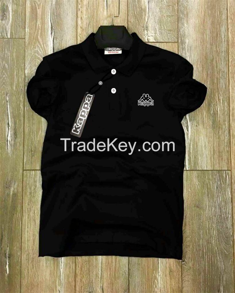 2018 Branded 100% Cotton Fashion Pique Polo T Shirt