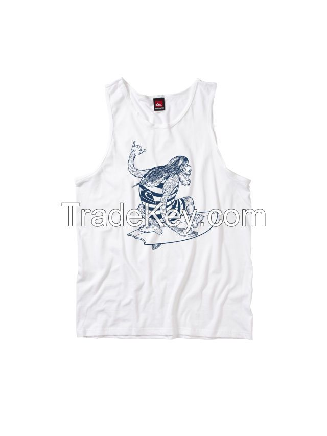 100% Cotton Tank Tops (Sleeveless) / Summer Vests Printed / Blank Tank Top / Fitness Wear / Gym Wear