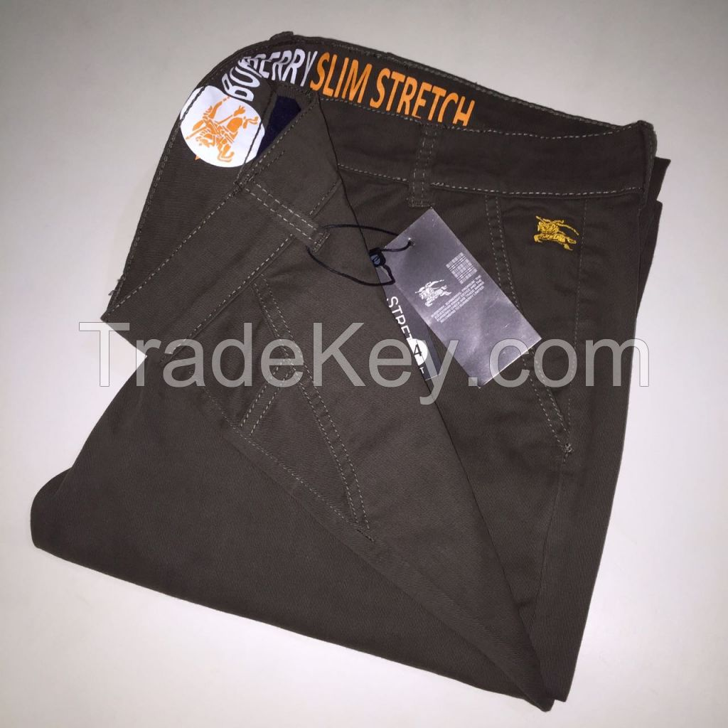 Quality Pants Comfort Fashion | Straight Cut Cheap Twill Pants | Cotton Stretch Chino Pants