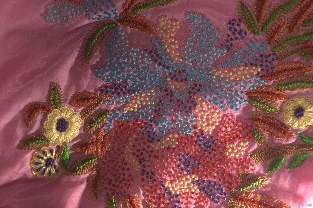 Exclusive Hand Embroidered Fabrics