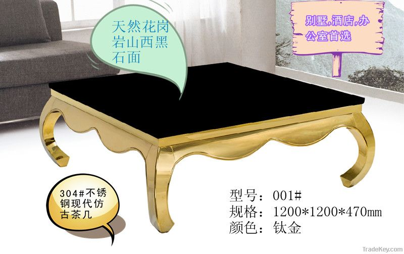 2012 the new stainless steel tea table