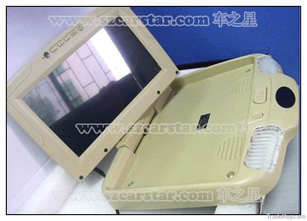 9 Inch Car Roof Mount  TFT LCD Flip Down Monitor