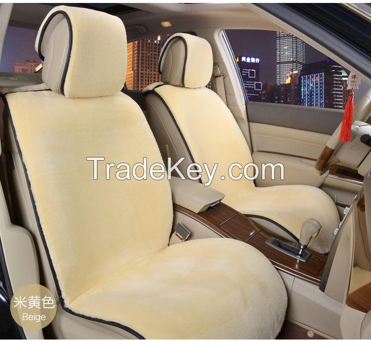 Wholesale Top Quality Australian Sheepskin Car Seat Cover Cushion