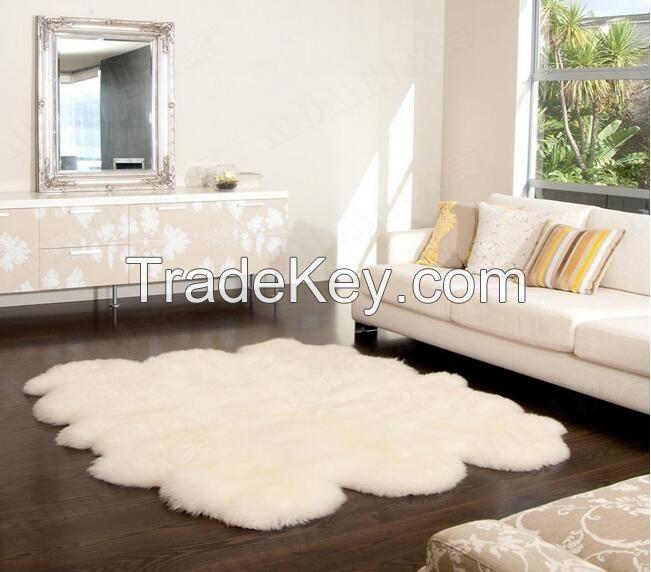 Australian Sheepskin Rug Floor Carpet Sofa Cover Bed Blanket