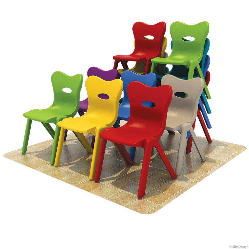 kindergarten kids plastic indoor chair