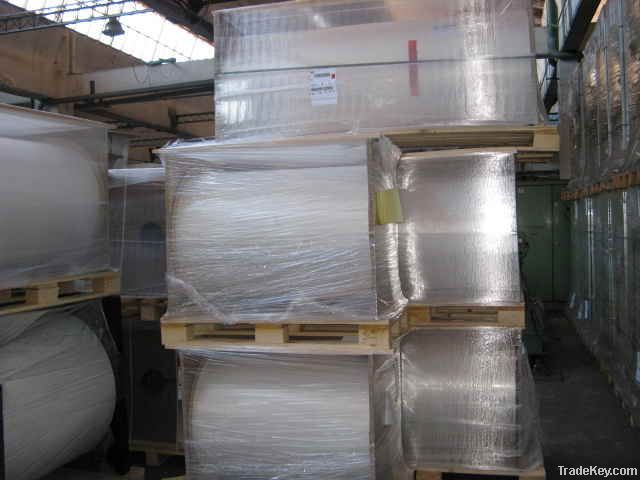 BOPP film rolls: clear, coated, perlized, white, metalized