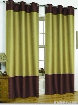 panel with grommets fabric