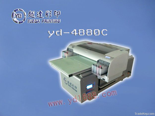 Digital t-shirt printing machine with high precision