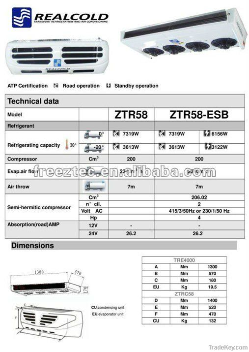 transport refrigeration unit-ZTR58