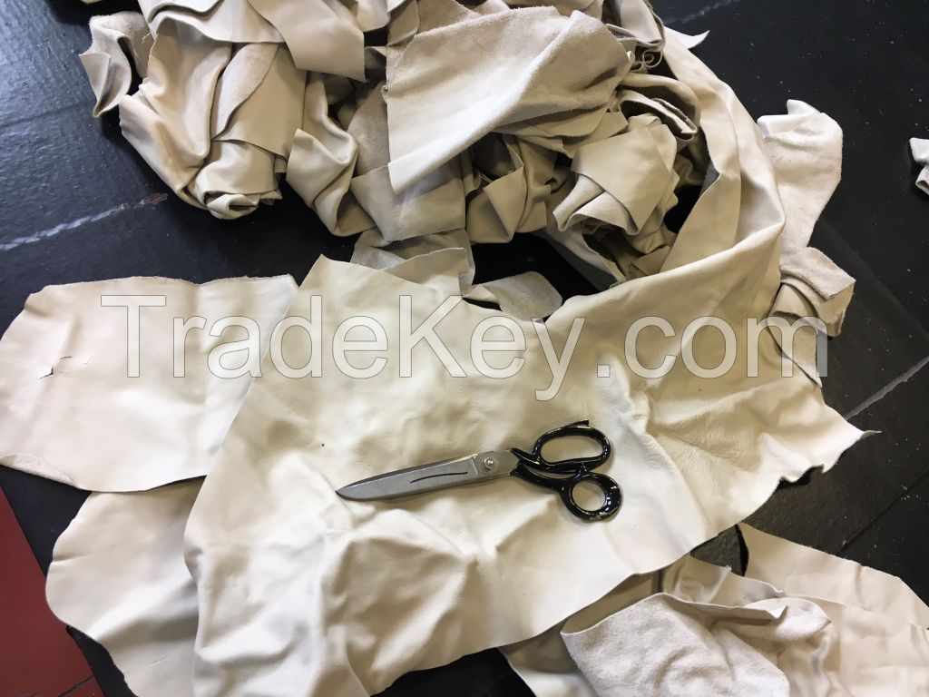 Leather Pieces and Sheets Stock
