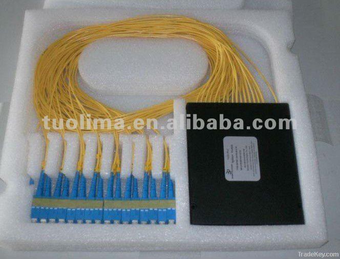 Optic PLC Splitter 1x16 Fiber Optic PLC Splitter