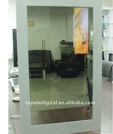 32 inch magic mirror lcd digital display sensor advertisements mirror