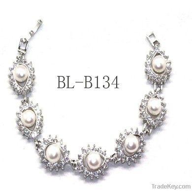 Stocks!! Wholesale Lady Fashion Real Freshwater Bracelet Jewelry