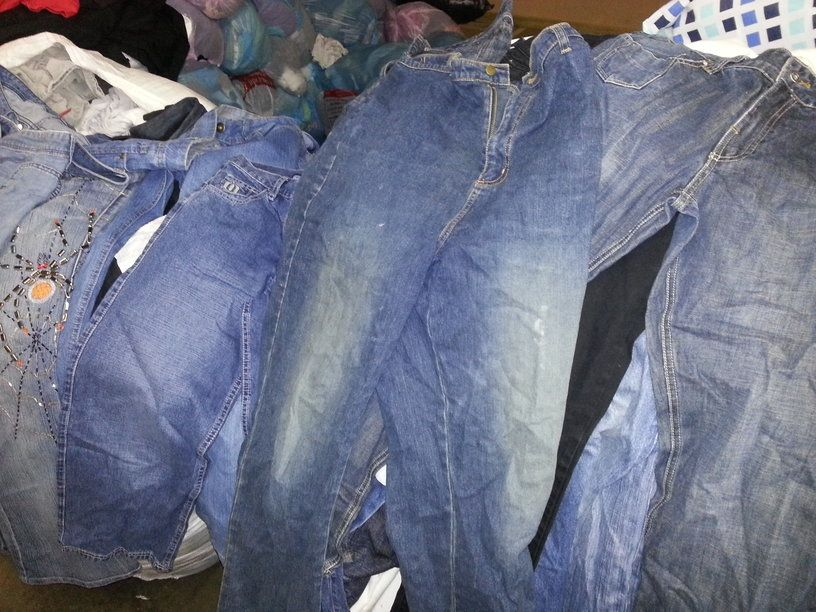 Used clothing(jeans pants,shoes,bags,clothes)