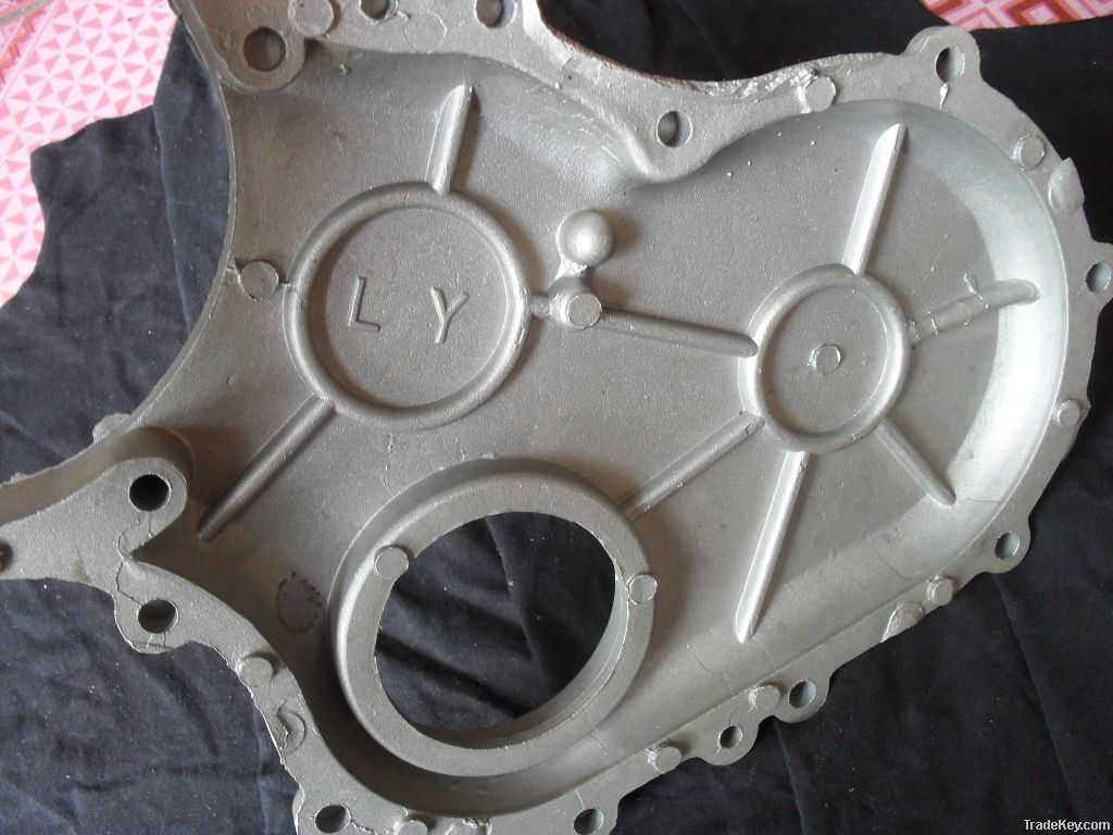 The rotor plate-accessories to sample, to figure aluminum casting die-
