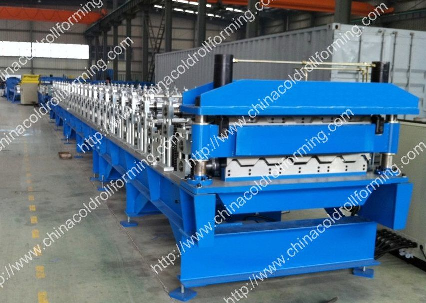 Metal roof double forming machine
