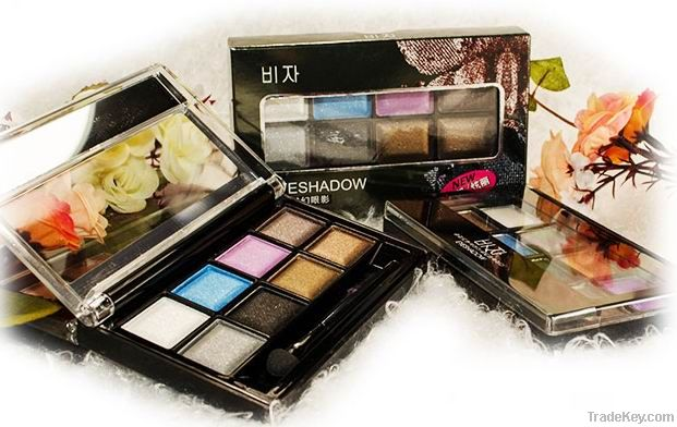 Mineral Eyeshadow Palette, OEM Eye Shadow, Glitter Eyeshadow