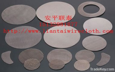 filter screen pack for polymer filtration