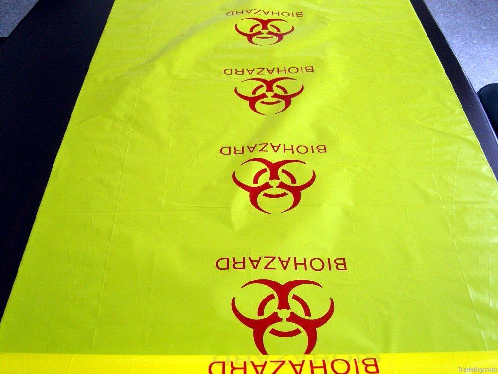 High temperature Autoclave  biohazard medical waste bag
