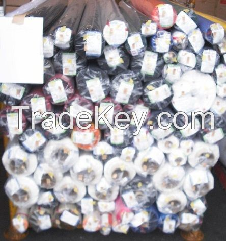 Coated Woven Fabrics Stock Lot