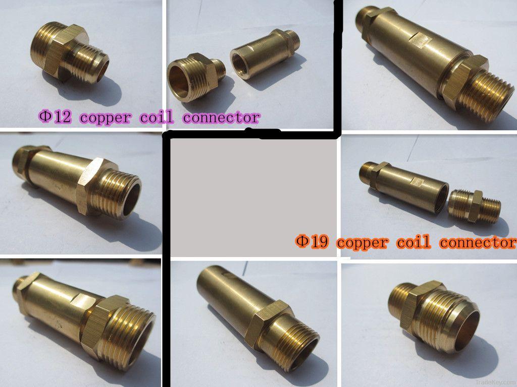 copper coil connector