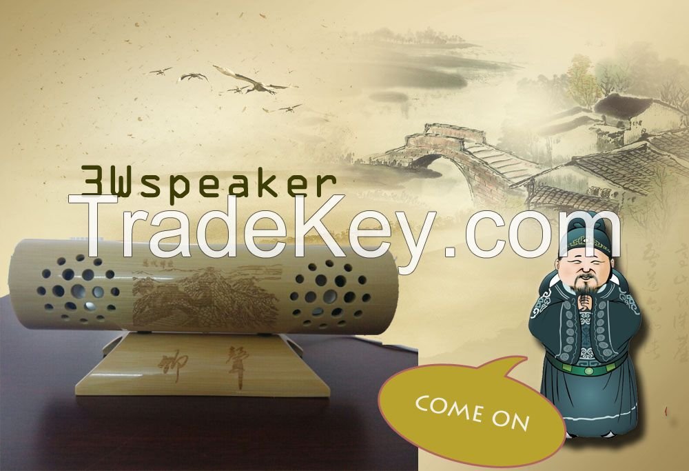 The best Bamboo speaker 2015 the only unique bamboo speaker support DI