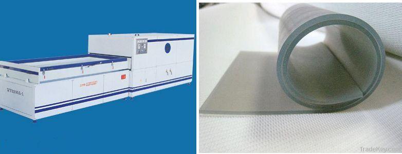 silicone rubber membrane for vacuum press machine