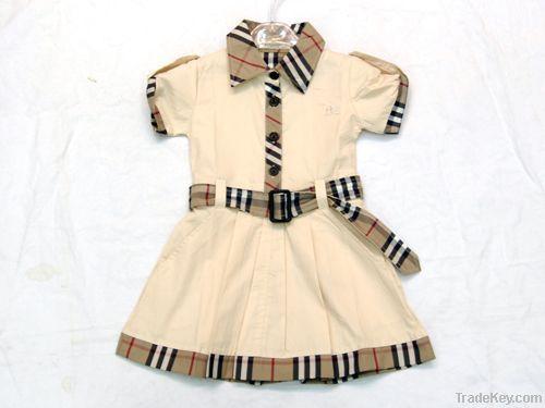 100% cotton Children Clothing, Baby dress set, baby apparel wholesale