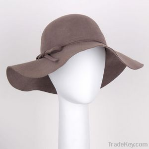 Wool Felt Floppy Hat
