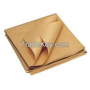 Kraft Paper Virgi, Recycled 35-1000 gsm Available
