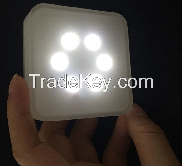 Mini microwave radar sensor smart LED night light