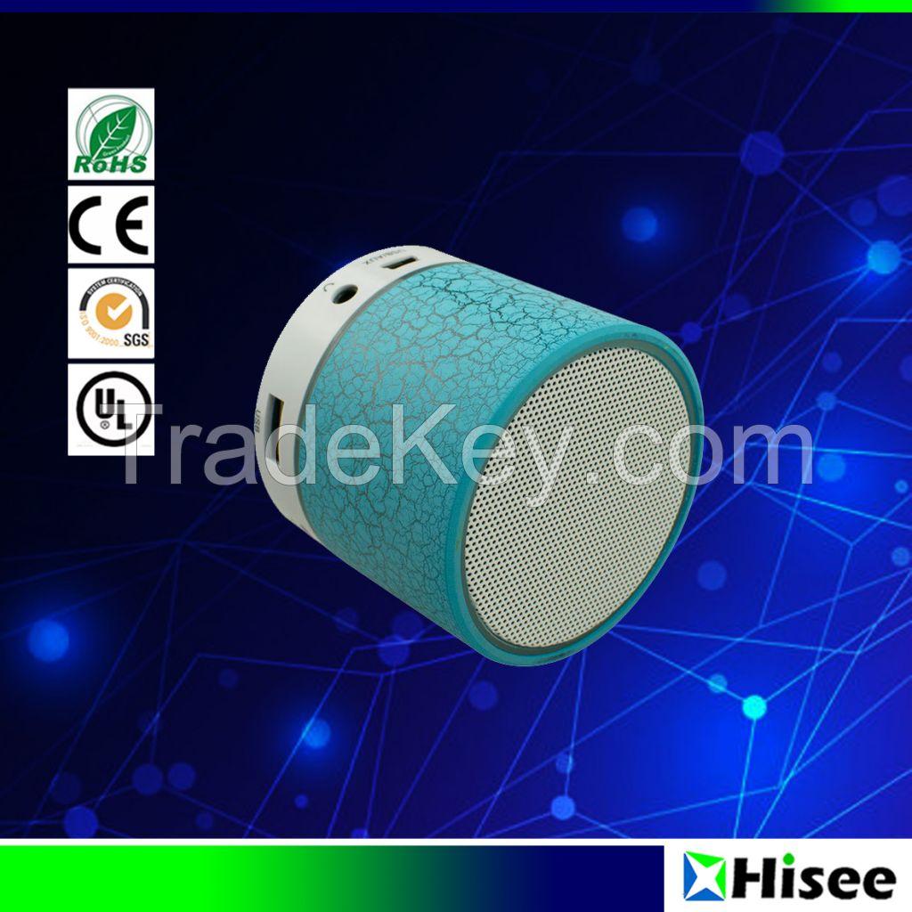 Smart portable mini LED wireless  bluetooth speaker