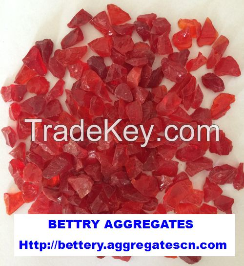 red glass aggregate