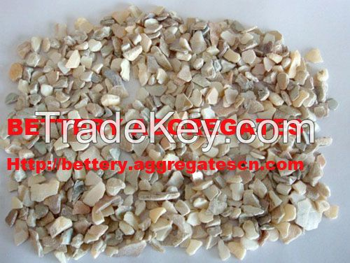 unpolished mother of pearl aggregates