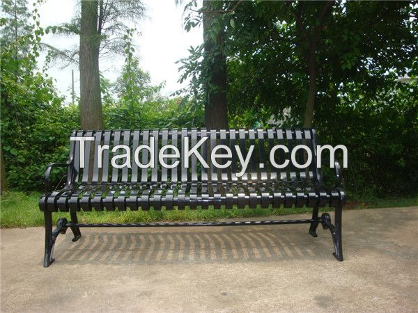 6 feet long outdoor metal bench cast iron park bench wrought iron garden bench