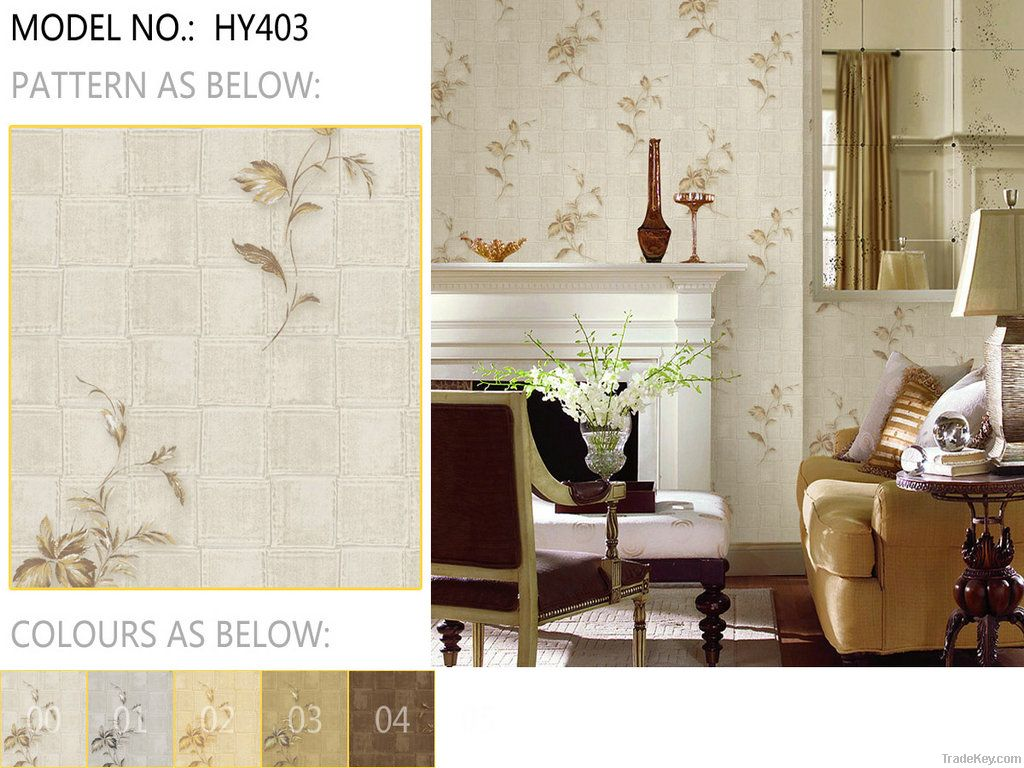 2012 the latest design vinyl Wallpaper wallcovering Catalogue for decoration